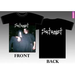 T-shirt Satanist 2